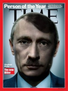Is Putin the new Hitler?